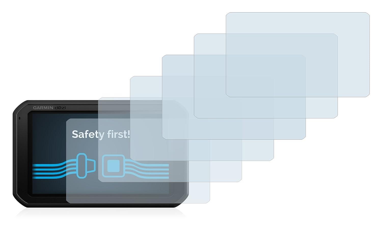 Savvies Protector de Pantalla para Garmin dezl 780 LMT-D [6 Unidades] - Transparente