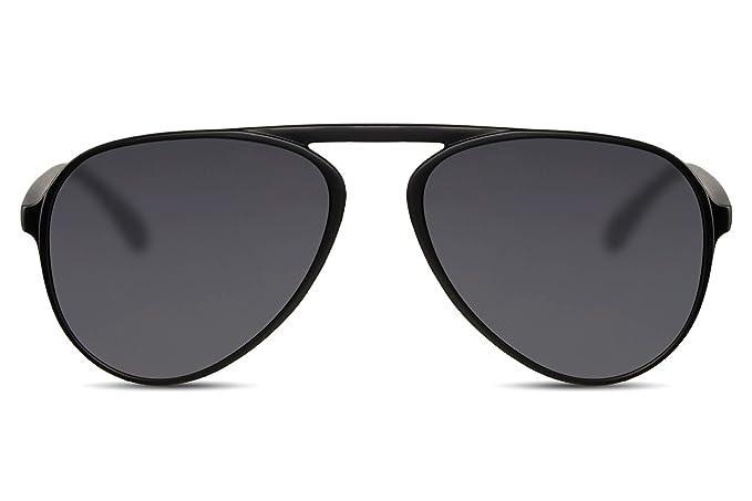 f62bd94175eac7 Cheapass Lunettes de soleil en plastique Pilote Pont flexible Style unique  UV400