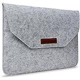 Macbook Air 13 / Pro 13 inch Shoulder Bag, Umiko(TM) Soft Carrying Laptop Handbag Bag Carry Protective Case For...