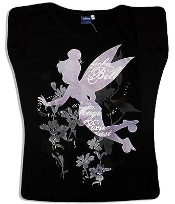 suche nach authentisch wie kauft man attraktive Mode Tinkerbell Disney Damen T-Shirt Gr. XL, Schwarz: Amazon.de ...