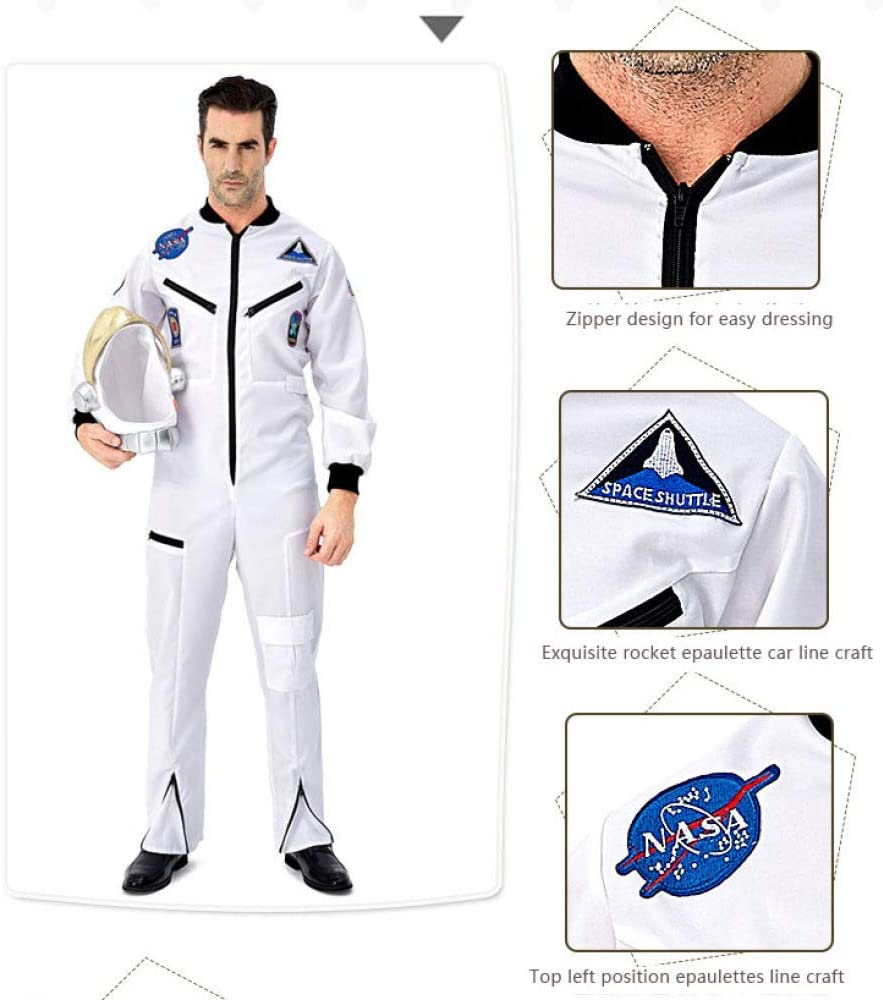 COSOER Traje Espacial De Astronauta Cosplay para Padres E Hijos ...
