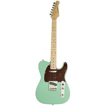 Diente de Sierra Classic et 50 cuerpo de fresno guitarra eléctrica