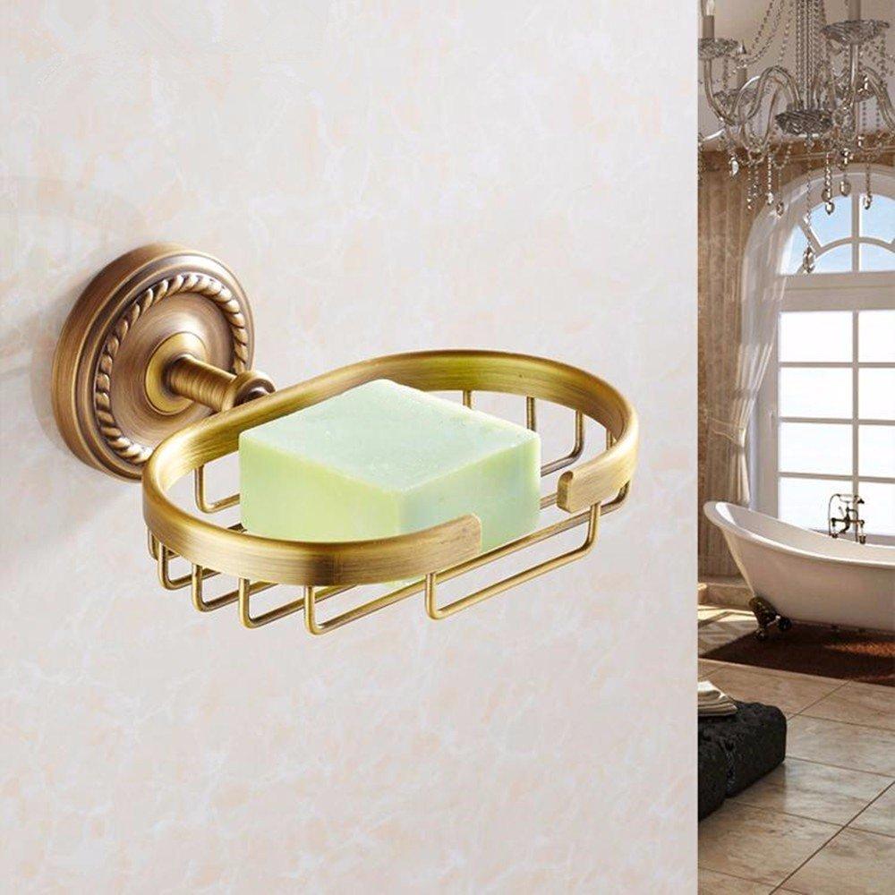 HOMEE All Copper Soap Rack European Bathroom Goods Rack Pendant