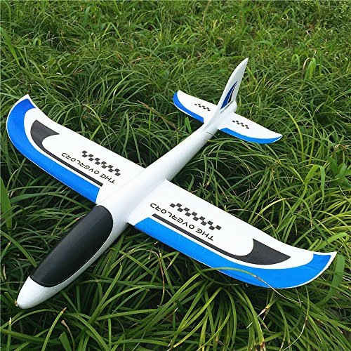 Hand Launch Throwing Glider Aircraft Inertial Foam EPP Airplane Toy Plane Model outdoor fun ()