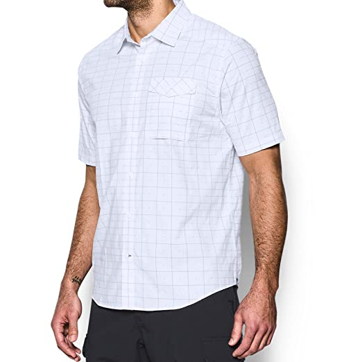 71650072 Under Armour Men's UA Tactical Short Sleeve Button Down Shirt