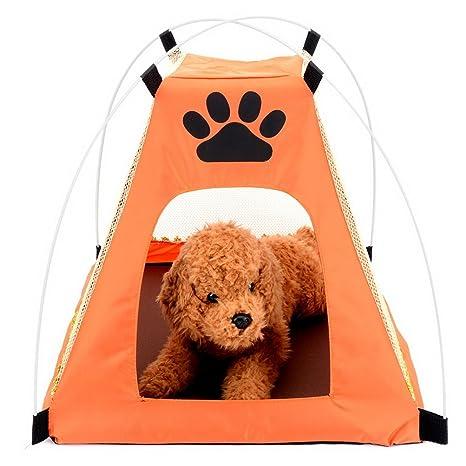 ZUNEA Tienda de campaña para Perro Gato Malla Impermeable ...