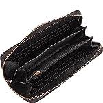 Dasein Stripe Medium Satchel with Matching Wallet
