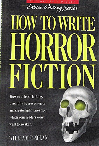 Pdf Reference How to Write Horror Fiction (Genre Writing Series)
