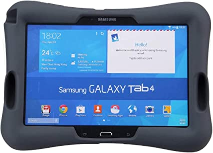 NEWSTYLE Samsung Galaxy Tab 4 10.1 Silicone Case Souple Coque Housse Etui pour Samsung Galaxy Tab 4 10.1 10.1 Pouces SM-T530/T531/T535 … Enfants ...