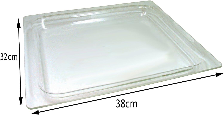 Spares2go cristal bandeja para Siemens microondas y horno cocina ...