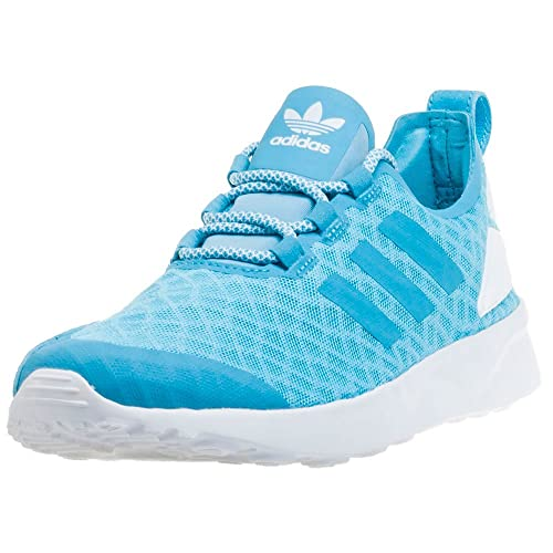 reputable site 9fc4e cc6a3 adidas Women s ZX Flux ADV Verve Trainers, Blue Blanch Sky Core White, ...