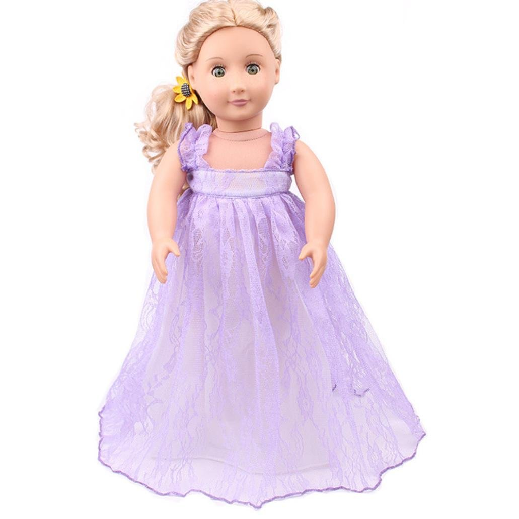 e72ff8dad186f The Mini Cute Lovely Dress Also fit our generation, Alexander and other 18  inch dolls ♥ Modeling category: the United States girls doll clothing.