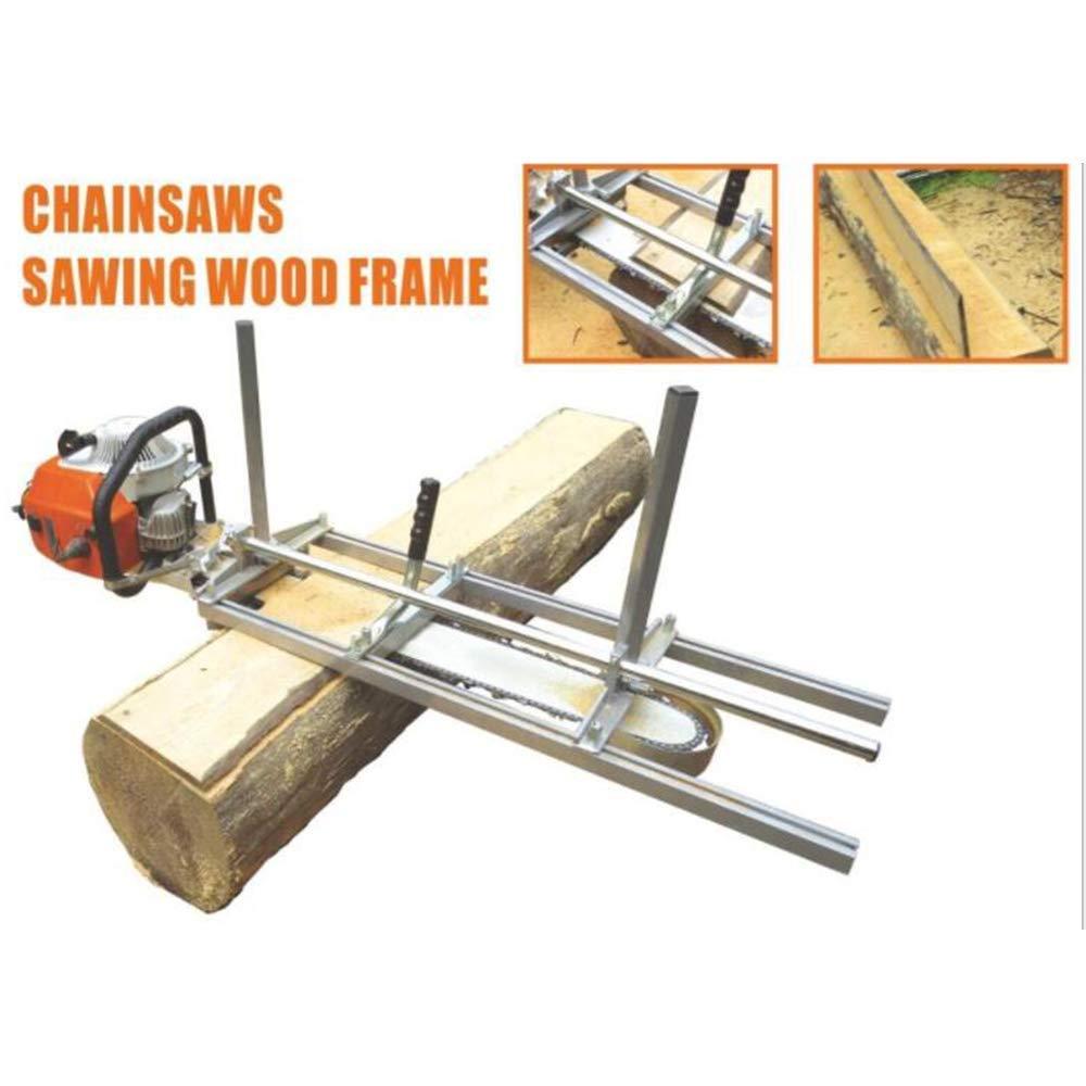 TOPQSC Chainsaw Mill 36 Zoll Tragbare Kettens/äge M/ühle Aluminium Stahl Mig Schwei/ßen S/ägewerk 14-36 Planking Lumber Schneideisen 14-36