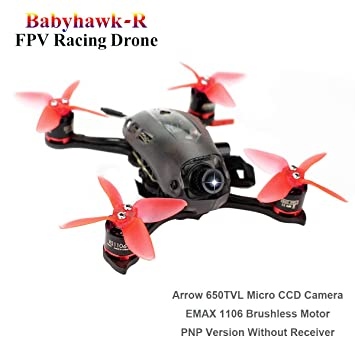 Mini Drone EMAX Babyhawk-R FPV Racing RC Drone (112mm F3 Magnum ...
