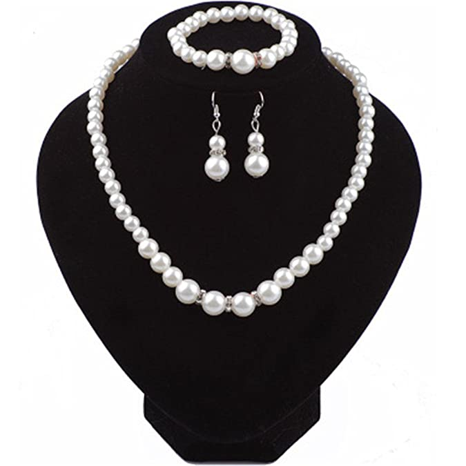 Fashion Pearl Crystal Jewelry.