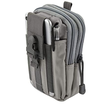 Tactical Molle Universal Large Battery Pouch Bag Holster 600D Nylon Storage Pack