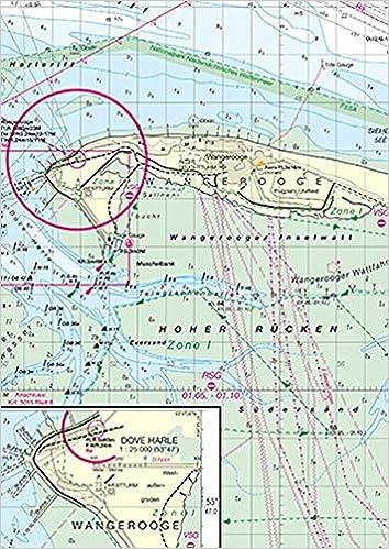 Deutsche Nordseeküste Karte.Planungskarte Für Die Klein Und Sportschifffahrt Nordsee Deutsche