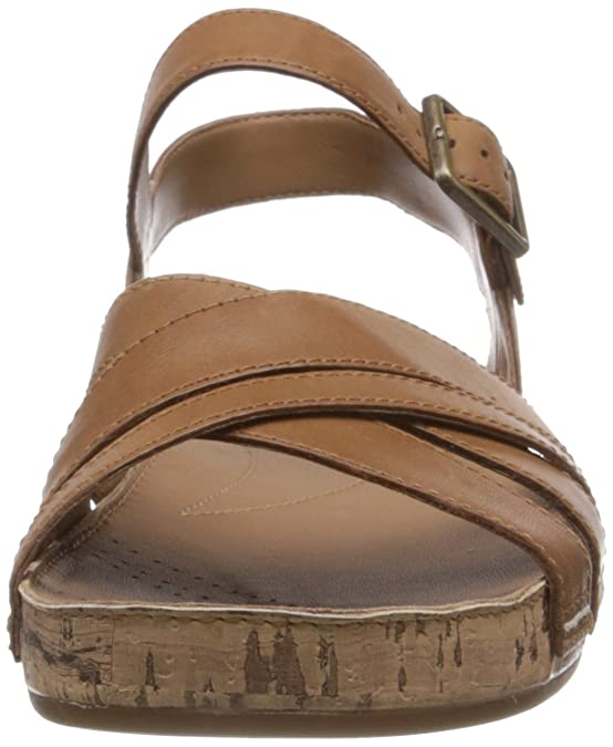 52d624d2b39e Clarks Women s Raspberry Jam Tan Leather Fashion Sandals - 4 UK  Buy Online  at Low Prices in India - Amazon.in