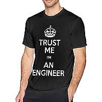Trust Me I'm an Engineer Men's Short Sleeve T-Shirt L
