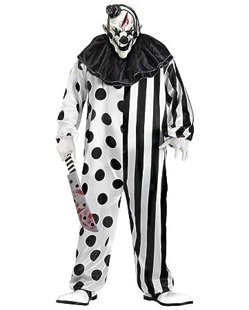 Halloween Kostüm Mörder Clownkostüm