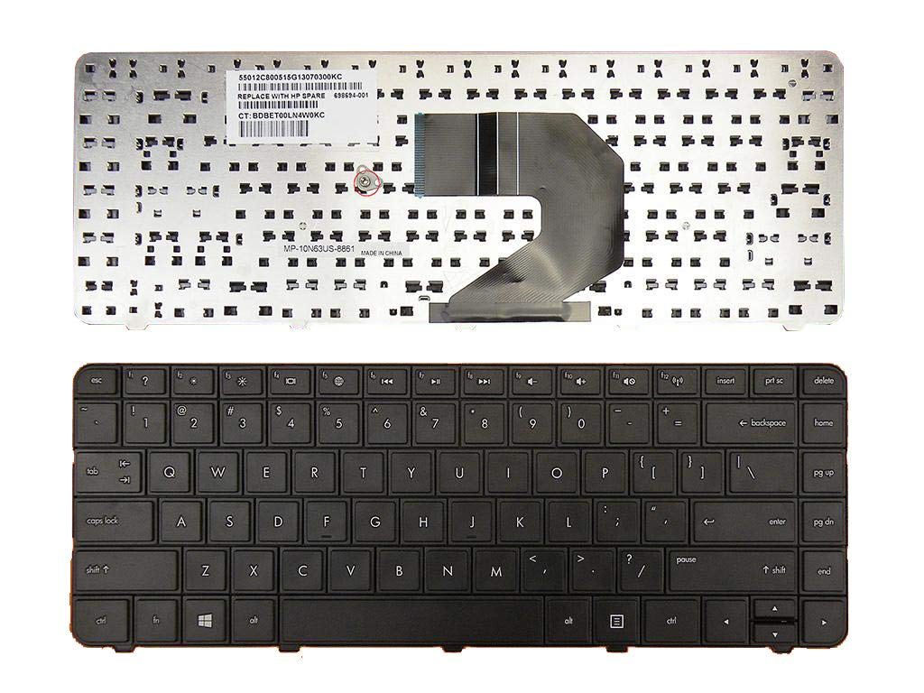 Teclado USA para HP CQ57 CQ58 G4-1000 G6-1000 2000 2000-100