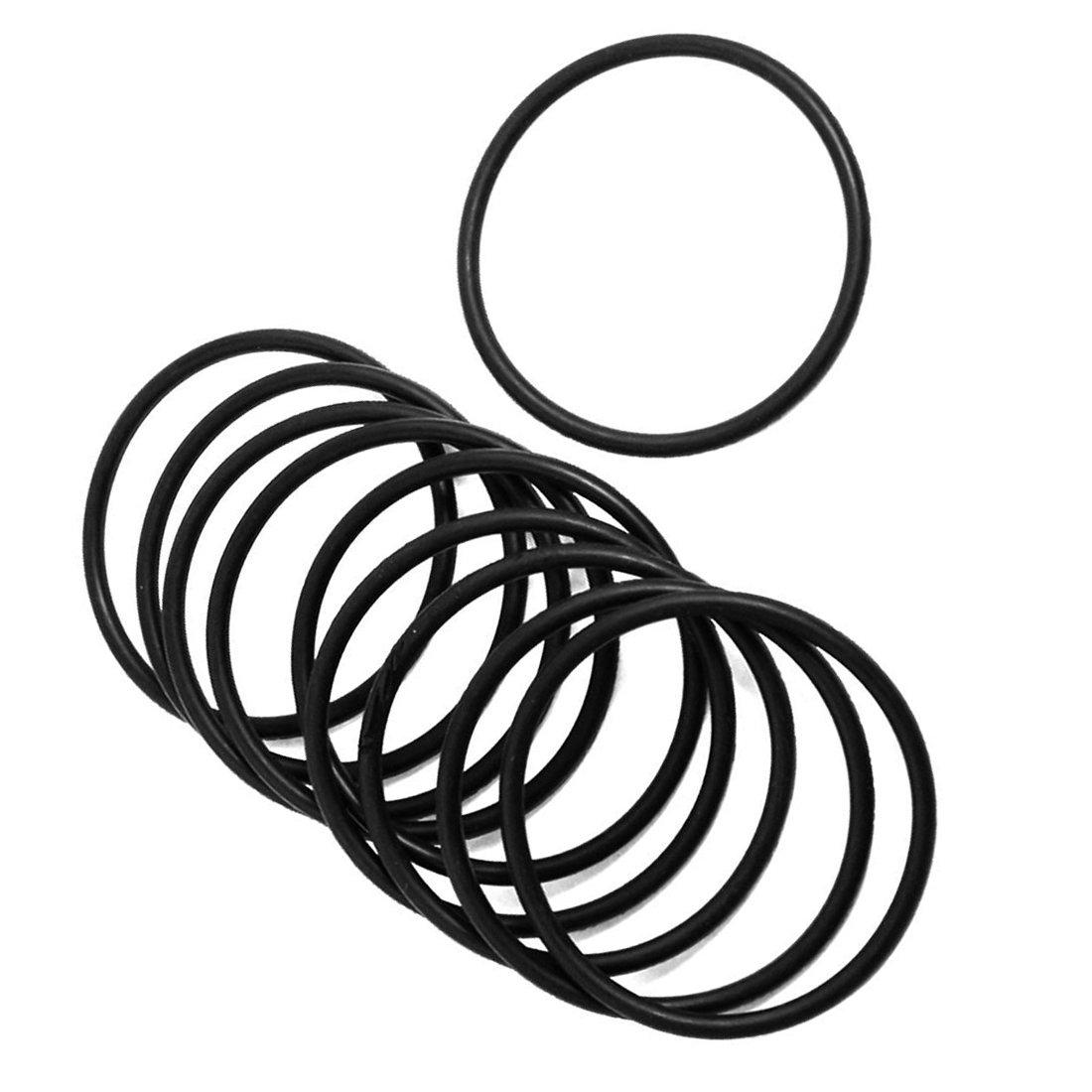 10 PCS Schwarz Gummi Oil Seal O-Ring Dichtung Unterlegscheiben 38x3x32mm O-Ring Dichtung Unterlegscheiben TOOGOO R