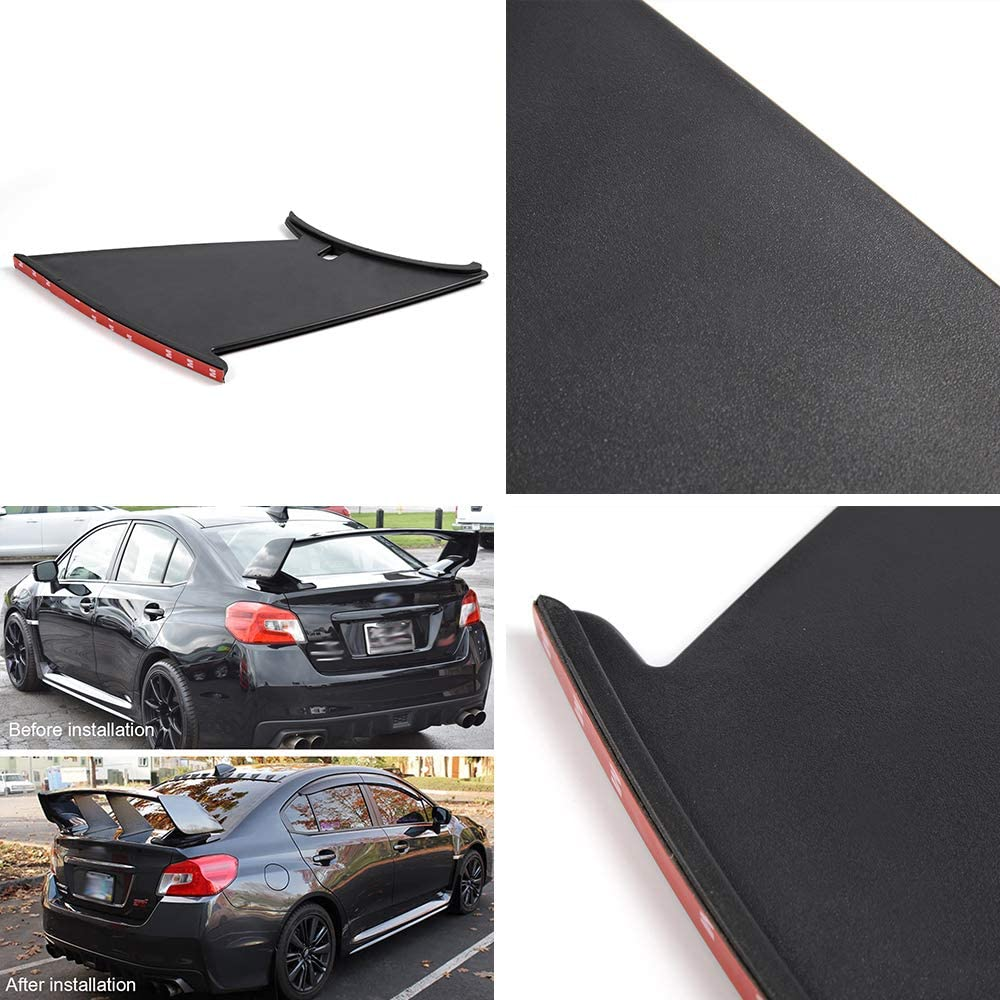 Vrracing 2Pcs Rear Spoiler Wing Stabilizer for 2011-2014 2012 2013 ...