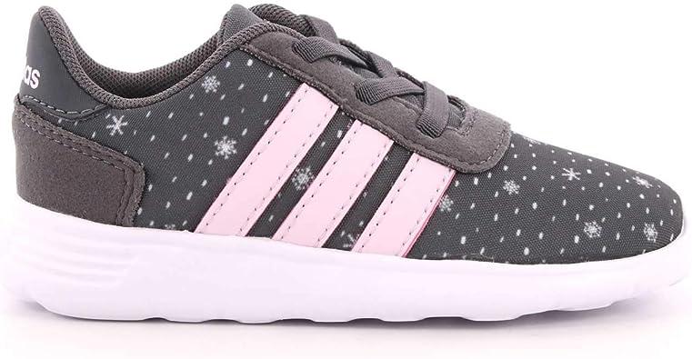 adidas Girls Shoes Running Lite Race CLN Kids Training Infants Trainers
