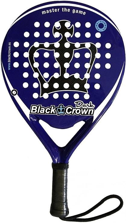 Pala de pádel Black Crown Dark: Amazon.es: Deportes y aire libre