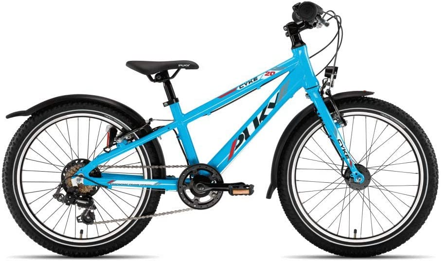 Puky Cyke 20-7 - Bicicleta Infantil (Aluminio), Color Azul: Amazon ...