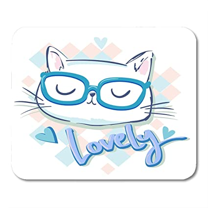 amazon com nakamela mouse pads hello kitty hand drawn cute cat for