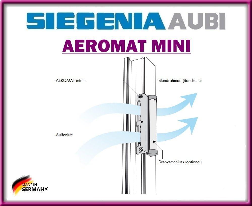 Gesunde luft!!! AEROMAT mini mit Drehverschluss mit Schrauben von Siegenia!!