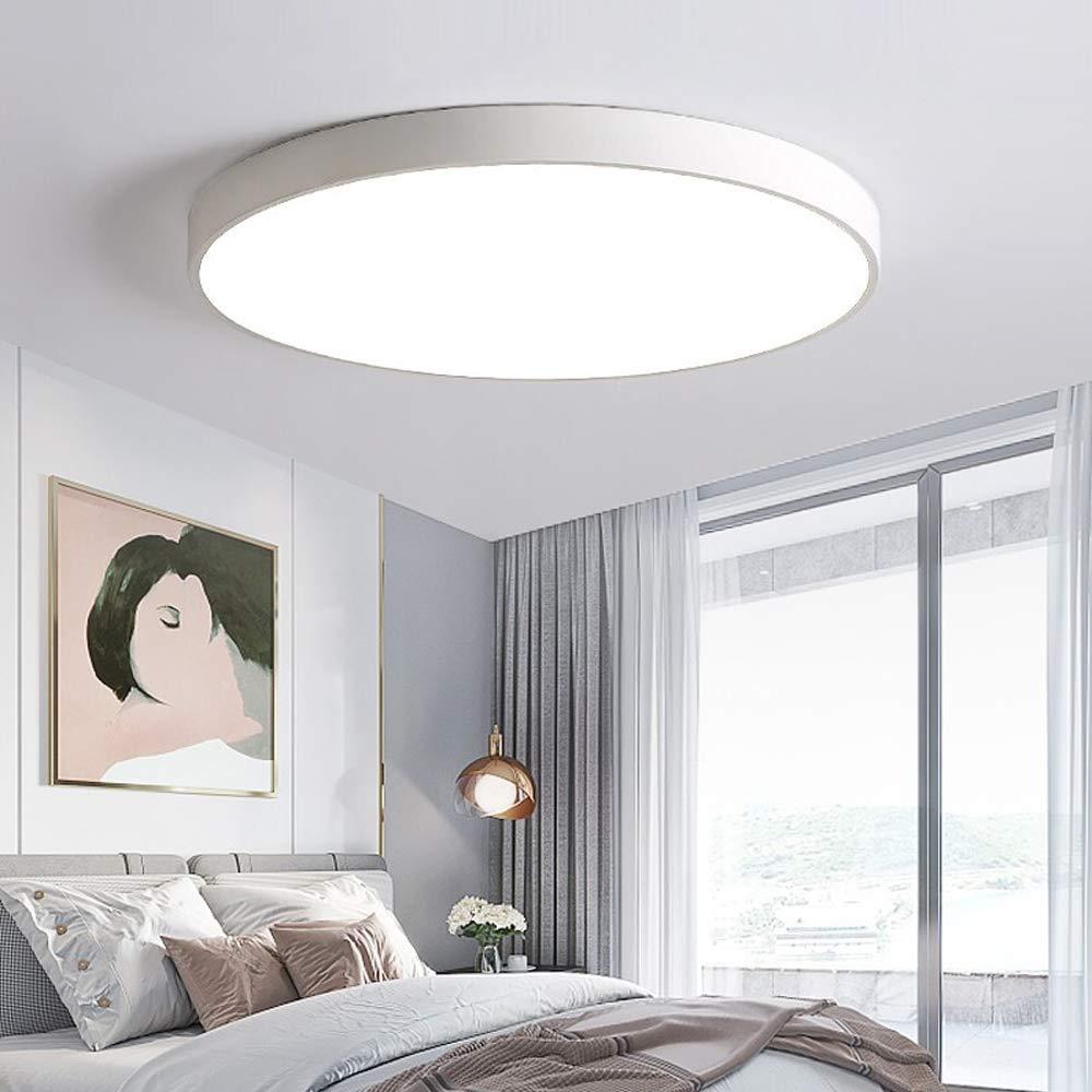 COOSNUG LED Deckenleuchte 36W Kaltwei/ß Schwarz Quadrat Deckenlampe Modern Wohnzimmer Lampe Schlafzimmer K/üche Panel Leuchte mit Fernbedienung