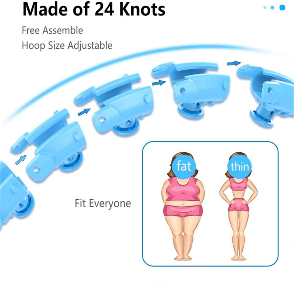 Smart Fitness Tire Massage Does Not Drop Yoga Weight Loss Artifact Sports Equipment Suitable For Adults and Children//24 knots