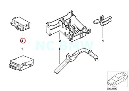 Amazon Com Bmw Genuine Transmitter Receiver Module Automotive