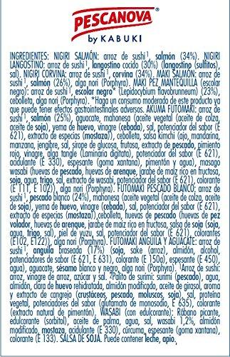 Pescanova Sushi y Share - 445 gr: Amazon.es: Alimentación y bebidas