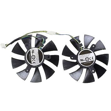 Ventilador de refrigeración para Tarjeta gráfica MSI 450 ...