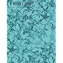 Home Care Record Book: Blue Personal Daily Home Aide Record Book | Daily Medicine Reminder Log, Medical History, Service Timesheets | Tracking, ... Details & Treatment (Healthcare) (Volume 5)