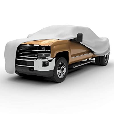 "Arch Motoring 5 Layers Truck Cover, Heavy Duty Outdoor Pickup Truck Cover, Waterproof, All Weather Proof, UV Protection, Scratch Resistant, Universal Fit Up to 249"": Automotive"