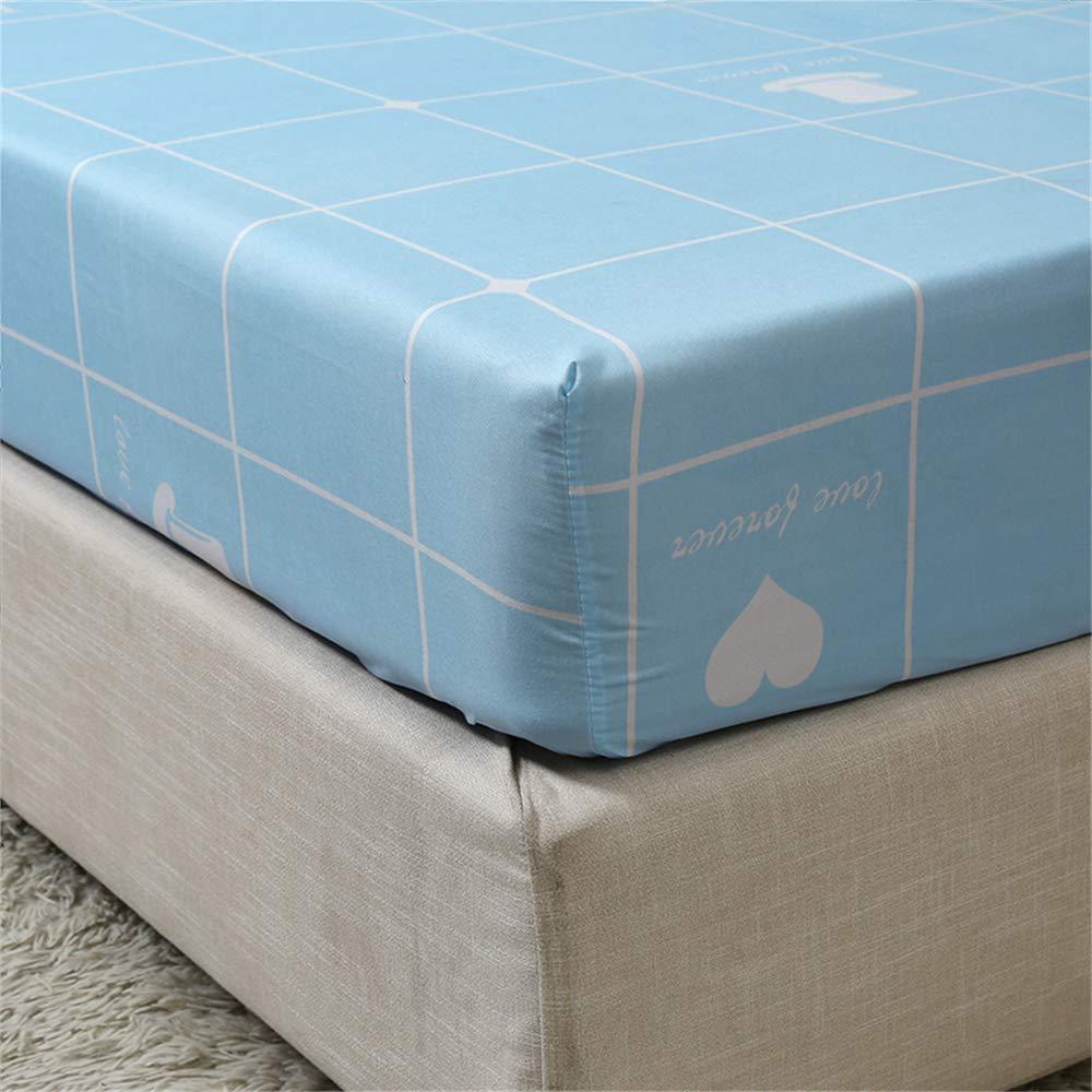 Atmungsaktiv 200 23cm WENXIAOXU Weiche bl/ätter Bett schoner Bezug mit N/ässeschutz Allergie und Anti Milben Schutz f/ür Hausstauballergiker,Einfache rutschfeste B-1 100