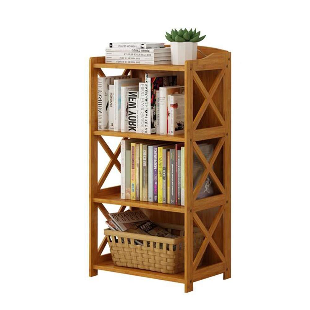 XUERUI オープンシェルフラック 本棚の純木の子供の貯蔵の棚の現代永続的な棚の単位は集まる必要があります 多機能 (色 : ブラウン ぶらうん, サイズ さいず : 50x29x97cm) B07S3T5WQB ブラウン ぶらうん 50x29x97cm