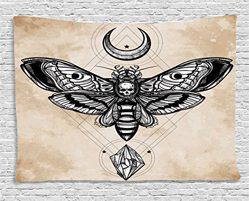 Fantasy Tapestry Ambesonne Spiritual Illustration