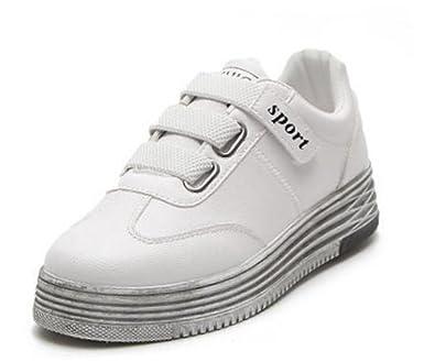 Femme chaussures loisirs chaussures Sneaker Chaussures de sport blanc 40 TiSv0iohHz