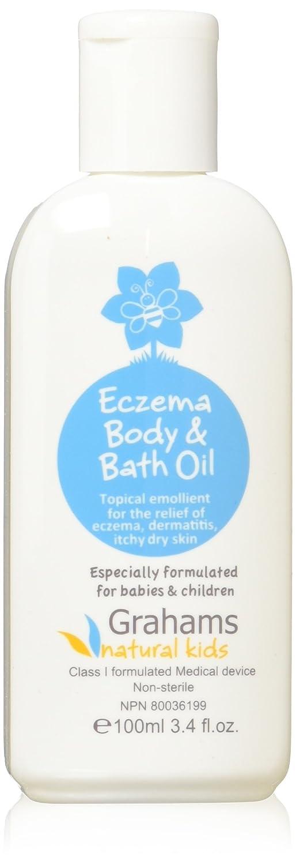 Graham Naturals Baby Bath Oil, 3.4 Ounce UNFI - Select Nutrition