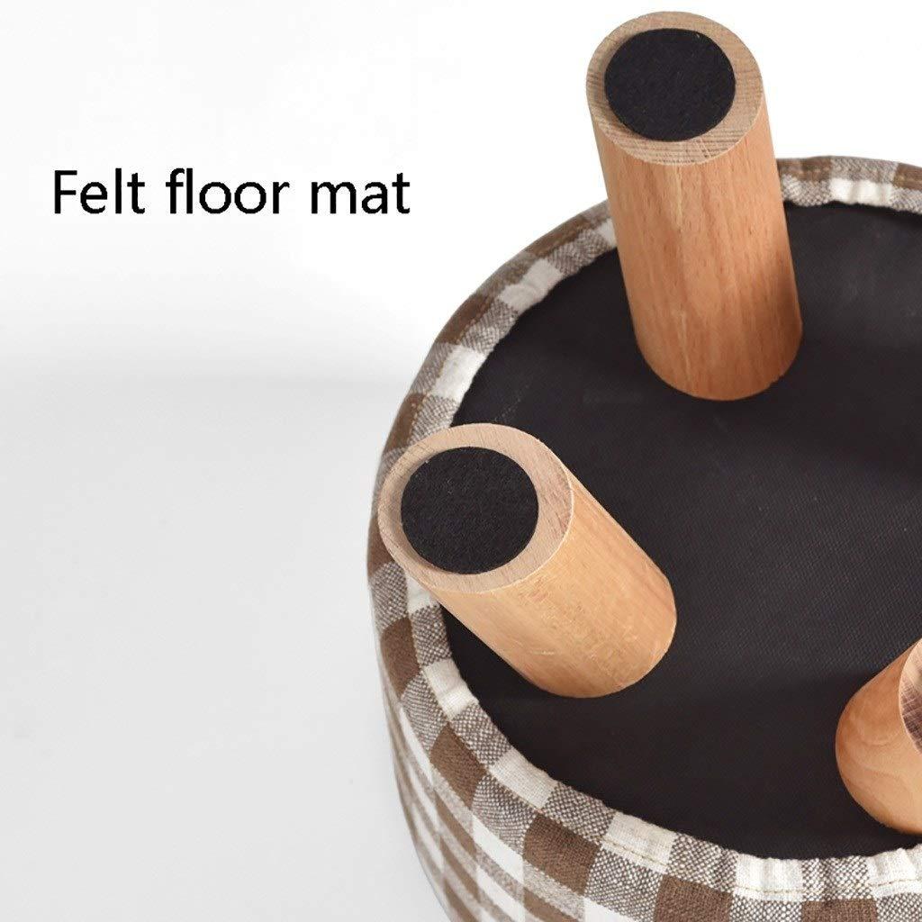 ASBKP kontorsstol med liten lunchpaus, enkel modern fotstöd, balkong soffa liten pall, vanligt tyg sko ombytande pall, kreativ fritid fotstöd, multifunktion 57*29*28cm 57*29*28cm