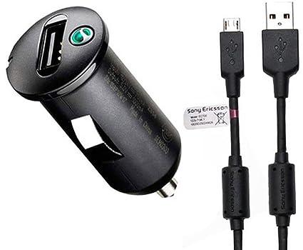 Sony Ericsson AN400 - Cargador de coche para Sony Xperia Z1, L y M ...