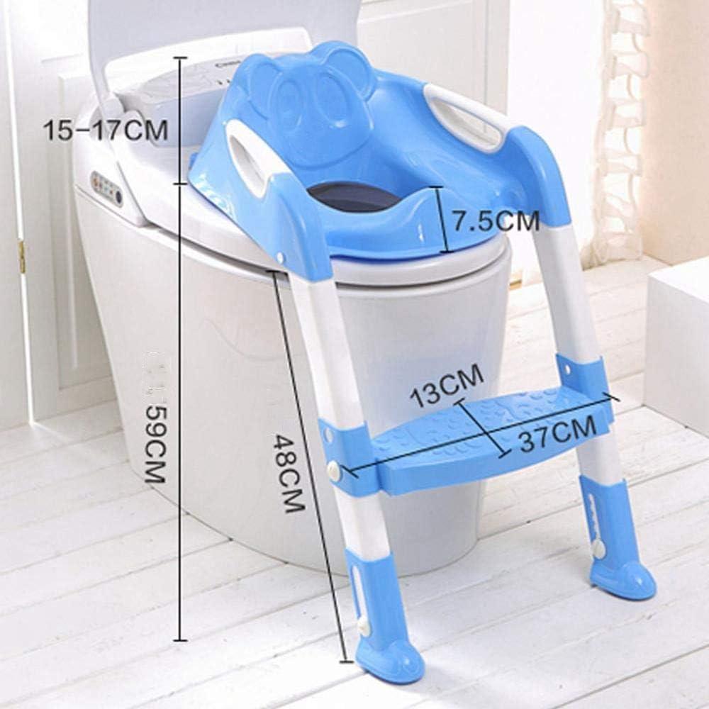 Ludage Escalera WC asiento escalera WC infantil asientos a chicos y chicas taburete silla: Amazon.es: Hogar