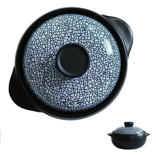 DOKJ Cazuela, Olla cerámica | Adecuado para la inducción | Olla de ...