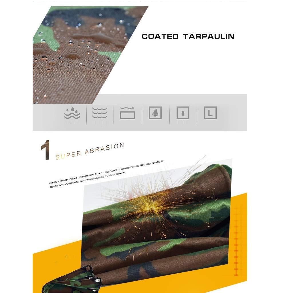 ALLIWEI Camo Tarpaulin Impermeabile Heavy Duty Large Thick Tenda da da da Sole A Prova di umidità Resistente alle Radiazioni Isolamento Caldo Prossoezione Frossoda Outdoor Car Tent Camouflage Tarpaulin B07LD7TFJY 4x6m | Di Alta Qualità  | Cheap  | Outl 54e83d