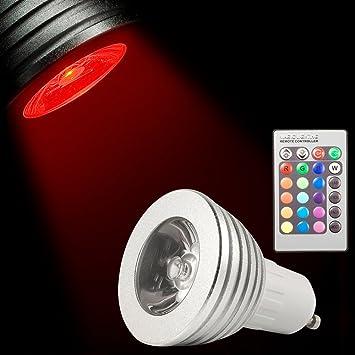 Good XCSOURCE RGB LED Lampe Licht Dimmbar Leuchtmittel, Lampen Rampenlicht 16  Farben Multicolor, Farbwechsel 5W